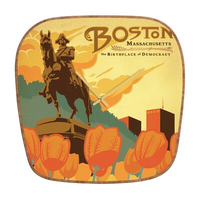 DENY Designs Anderson Design Group Boston Wall Clock