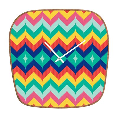 Juliana Curi Chevron Wall Clock