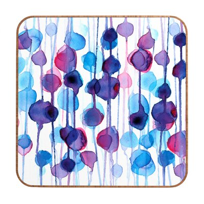 DENY Designs CMYKaren Abstract Watercolor Wall Art