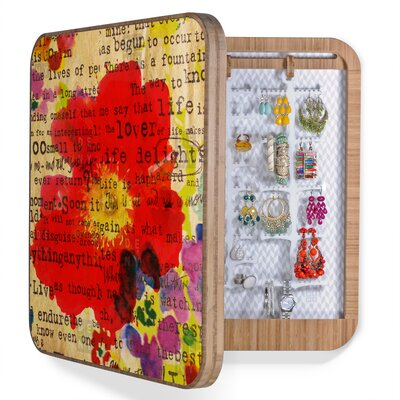 DENY Designs Irena Orlov Poppy Poetry 2 Jewelry Box