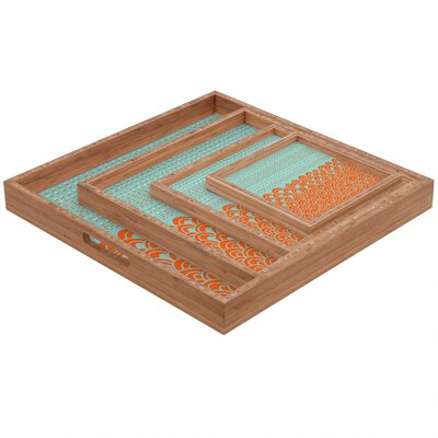 DENY Designs Budi Kwan The Infinite Tidal Square Tray