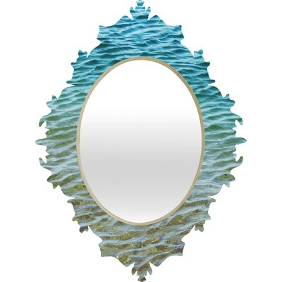 DENY Designs Shannon Clark Ombre Sea Baroque Mirror