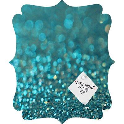 DENY Designs Lisa Argyropoulos Aquios Quatrefoil Magnet Memo Board