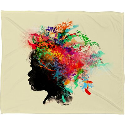DENY Designs Budi Kwan Wildchild Polyester Fleece Throw Blanket