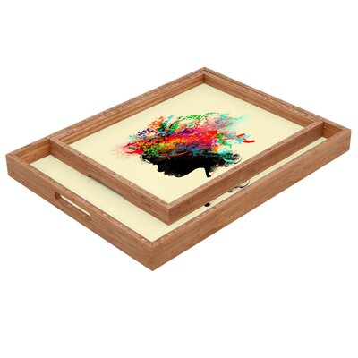 DENY Designs Budi Kwan Wildchild Rectangular Tray
