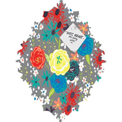 DENY Designs Vy La Bloomimg Love Baroque Bulletin Board