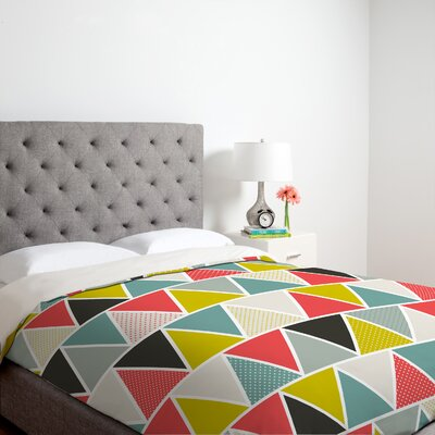 DENY Designs Heather Dutton Triangulum Duvet Cover Collection