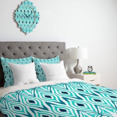 Amy Sia Ikat Jade Duvet Cover Collection