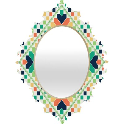 DENY Designs Budi Kwan Retrographic Rainbow Baroque Mirror