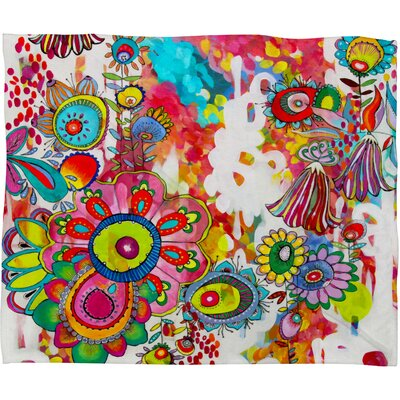 DENY Designs Stephanie Corfee Miss Penelope Polyesterr Fleece Throw Blanket