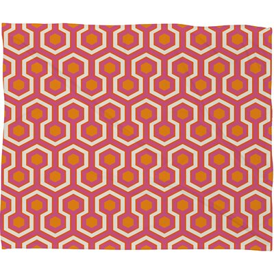 DENY Designs Caroline Okun Zest Polyester Fleece Throw Blanket