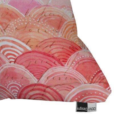 DENY Designs Cori Dantini Warm Spectrum Rainbow Throw Pillow
