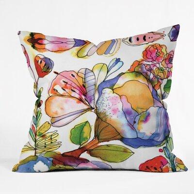 DENY Designs CayenaBlanca Blossom Pastel Throw Pillow