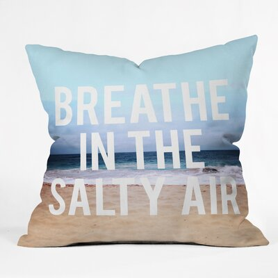 DENY Designs Leah Flores Breathe Throw Pillow
