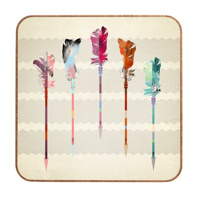 DENY Designs Feathered Arrows by Iveta Abolina Framed Graphic Art Plaque