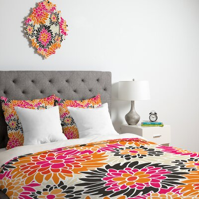 DENY Designs Andrea Victoria Summer Tango Floral Duvet Cover Collection