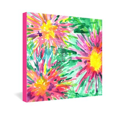 DENY Designs Joy Laforme Floral Confetti Gallery Wrapped Canvas