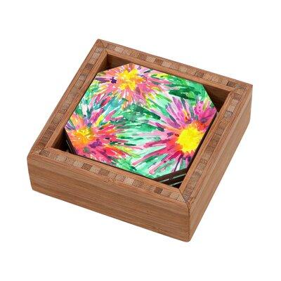 DENY Designs Joy Laforme Floral Confetti Coaster
