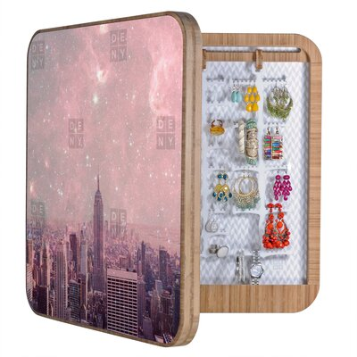 DENY Designs Bianca Green Stardust Covering New York Blingbox
