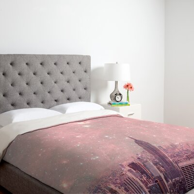 DENY Designs Bianca Green Stardust Covering New York Duvet Cover Collection