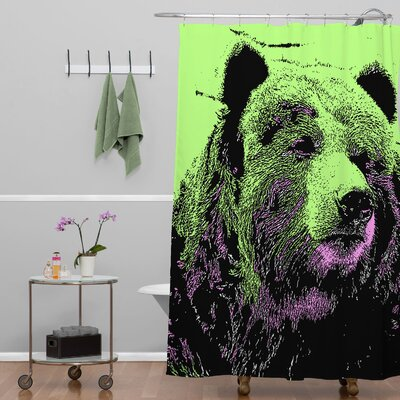 DENY Designs Romi Vega Polyester Bear Shower Curtain