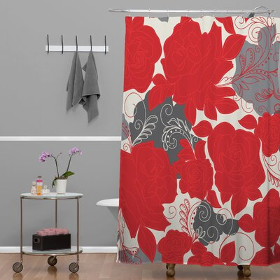 DENY Designs Khristian A Howell Woven Polyester Rendezvous 4 Shower Curtain