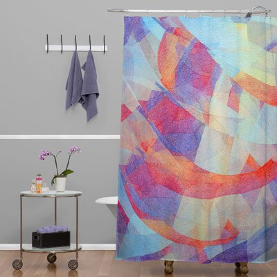 DENY Designs Jacqueline Maldonado Woven Polyester New Light Shower Curtain