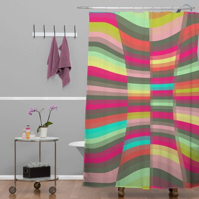 DENY Designs Jacqueline Maldonado Woven Polyester Spectacle Shower Curtain