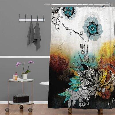 DENY Designs Iveta Abolina Polyester Frozen Dreams Shower Curtain