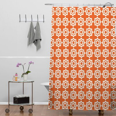 DENY Designs Khristian A Howell Woven Polyester Moroccan Mirage Shower Curtain