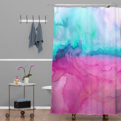 DENY Designs Jacqueline Maldonado Woven Polyester Tidal Color Shower Curtain