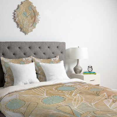 DENY Designs Cori Dantini Blue Floral Duvet Cover Collection