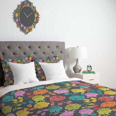 DENY Designs Bianca Green Roses Duvet Cover Collection