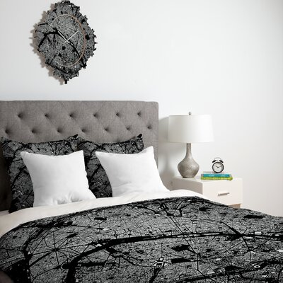DENY Designs CityFabric Inc Paris Duvet Cover Collection