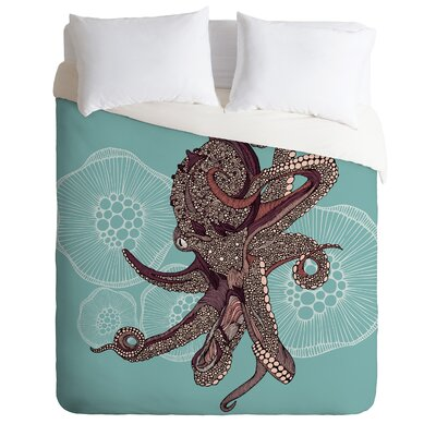 DENY Designs Valentina Ramos Octopus Bloom Duvet Cover Collection