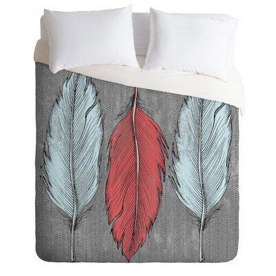 DENY Designs Wesley Bird Feathered Duvet Cover Collection