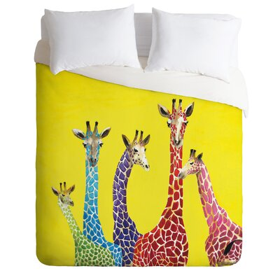DENY Designs Clara Nilles Jellybean Giraffes Duvet Cover Collection