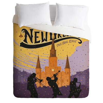 DENY Designs Anderson Design Group New Orleans 1 Duvet Cover Collection