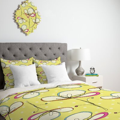 DENY Designs Rachael Taylor Floral Umbrellas Duvet Cover Collection