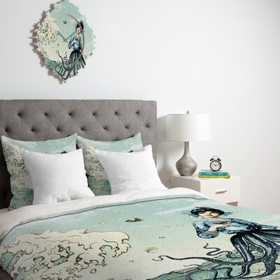 DENY Designs Belle 13 Sea Fairy Duvet Cover Collection
