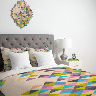 DENY Designs Bianca Green Completely Incomplete Microfiber Duvet Cover