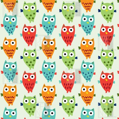 DENY Designs Andi Bird Owl Fun Duvet Cover Collection