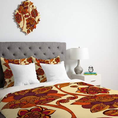 DENY Designs Valentina Ramos Boho Flowers Duvet Cover Collection