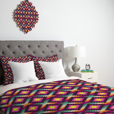 DENY Designs Bianca Green Aztec Diamonds Hammock Duvet Cover Collection