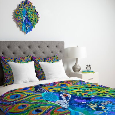 DENY Designs Elizabeth St Hilaire Nelson Cacophony of Color Duvet Cover Collection