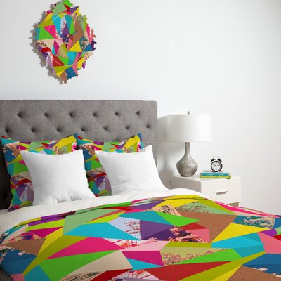 DENY Designs Bianca Green Colorful Thoughts Duvet Cover Collection