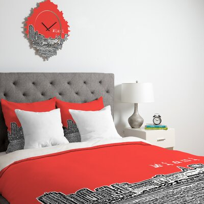 DENY Designs Bird Ave Miami Duvet Cover Collection