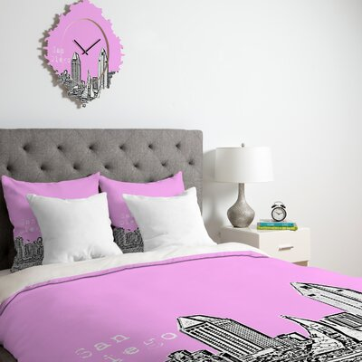 DENY Designs Bird Ave San Diego Duvet Cover Collection