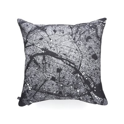 CityFabric Inc Paris Woven Polyester Throw Pillow