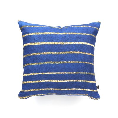 DENY Designs Social Proper Nautical Sparkle Polyester Throw Pillow